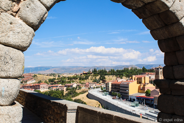View over Segovia by Expat Edna-2
