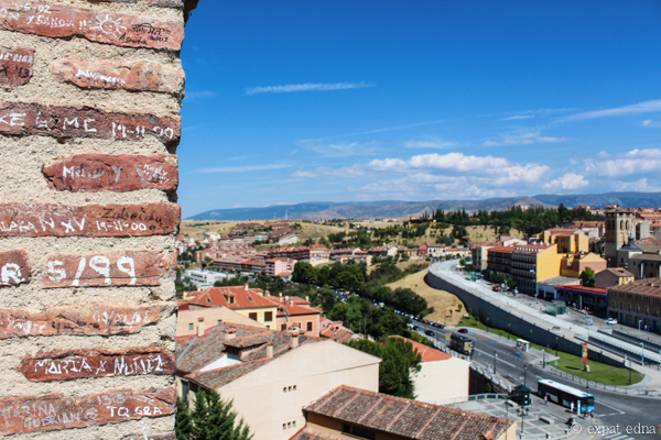 View over Segovia by Expat Edna-3