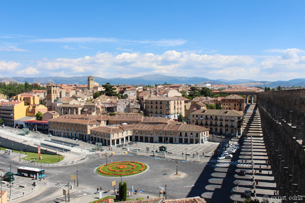 View over Segovia by Expat Edna-4
