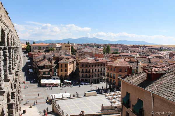 View over Segovia by Expat Edna