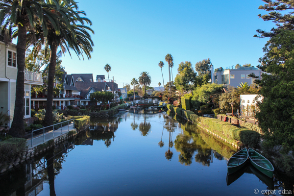 Canals in Venice, Los Angeles by Expat Edna