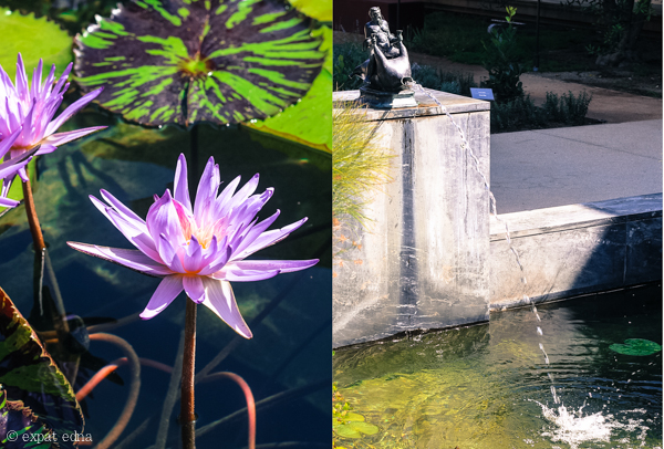 Getty Villa gardens, LA by Expat Edna