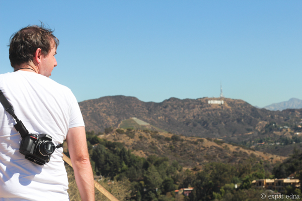 Hollywood sign, Runyon Canyon, LA by Expat Edna