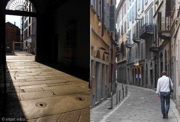 Lanes of Milan by Expat Edna