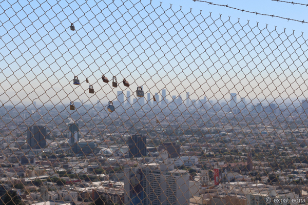 Locks, Runyon Canyon, LA by Expat Edna