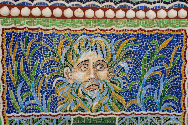 Mosaic, Getty Villa, LA by Expat Edna