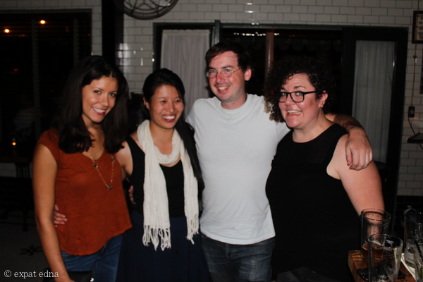 Paris friends reunion in LA! by Expat Edna