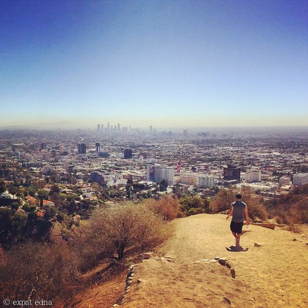 Runyon Canyon instagram, LA by Expat Edna