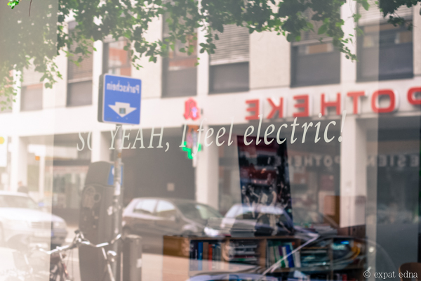 So yeah I feel electric, Munich by Expat Edna