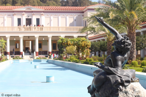 Statue, Getty Villa, LA by Expat Edna