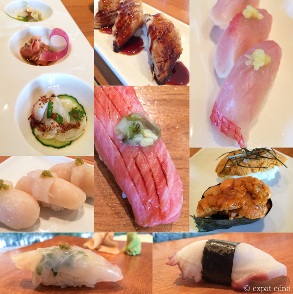 Sushi at Nobu, LA by Expat Edna