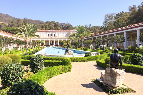 The Getty Villa, LA by Expat Edna