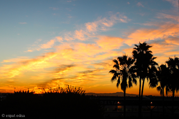 Venice sunrise, LA by Expat Edna