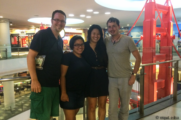 8 Edna, Joe, Steph and Tony from 20YH in Bangkok by Expat Edna
