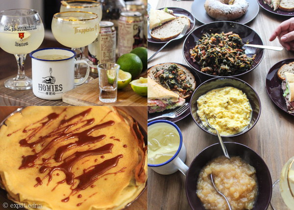 Brunches at home, Shanghai by Expat Edna