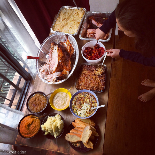 Thanksgiving 2014 in Shanghai by Expat Edna