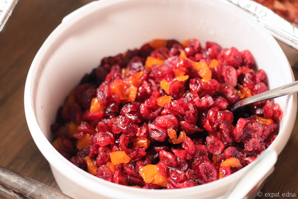 Thanksgiving cranberry sauce, Shanghai by Expat Edna