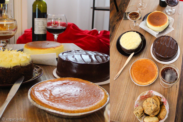 Thanksgiving desserts, Shanghai by Expat Edna