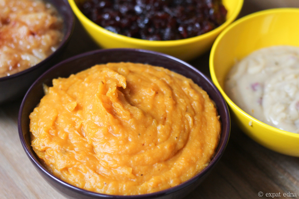 Thanksgiving sweet potato mash by Expat Edna