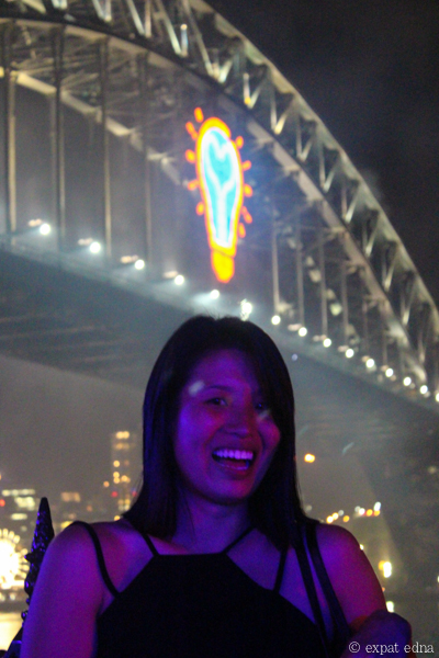Edna in Sydney on NYE by Expat Edna