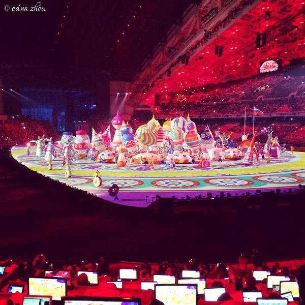 Sochi 2014 Opening Ceremony by Edna Zhou-2