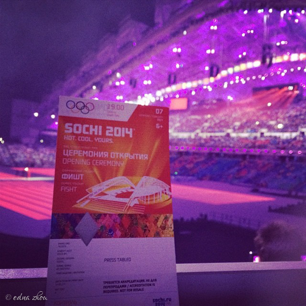 Sochi 2014 Opening Ceremony by Edna Zhou