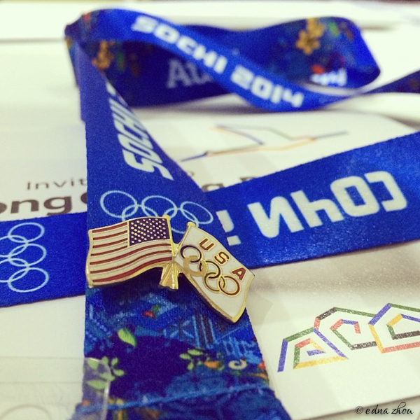Sochi 2014 USA pin by Edna Zhou