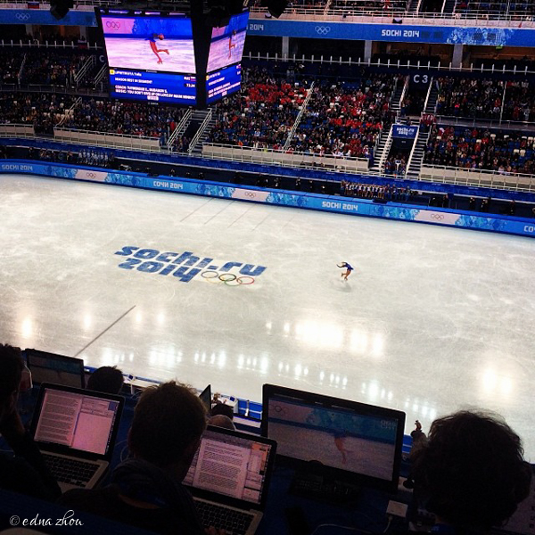 Sochi 2014 figure skating by Edna Zhou