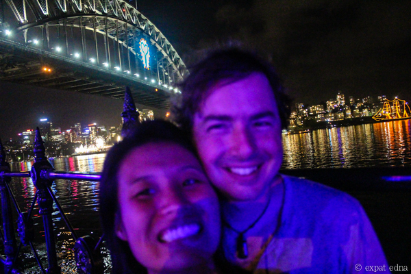 Sydney NYE Edna and Joe 2 by Expat Edna
