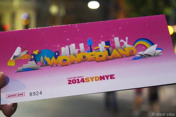 Sydney NYE Wonderland invitation by Expat Edna