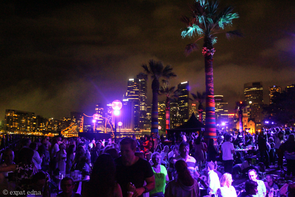 Sydney NYE by night by Expat Edna