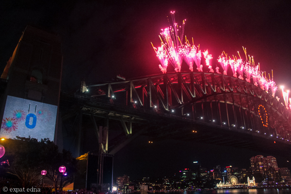 Sydney NYE countdown - MIDNIGHT! by Expat Edna
