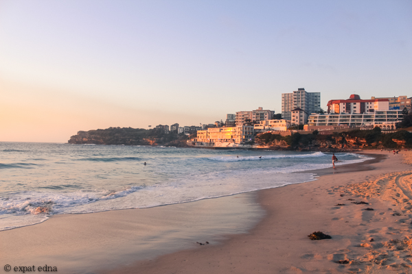 Bondi sunrise by Expat Edna