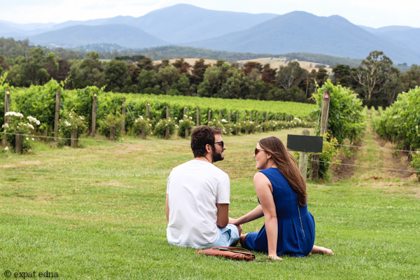 Chandon Vineyards picnic- Yarra Valley Wine Tour Melbourne by Expat Edna