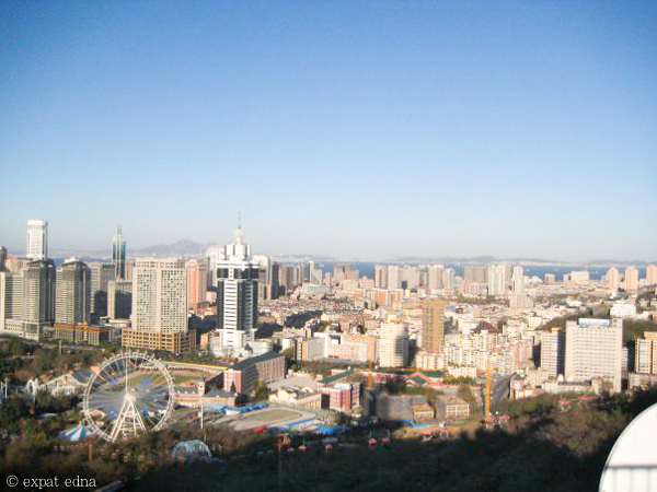 Dalian from above by Expat Edna