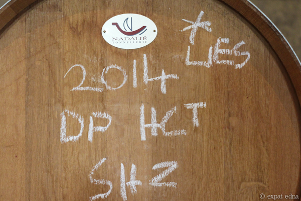 Dominique Portet barrel - Yarra Valley Wine Tour Melbourne by Expat Edna