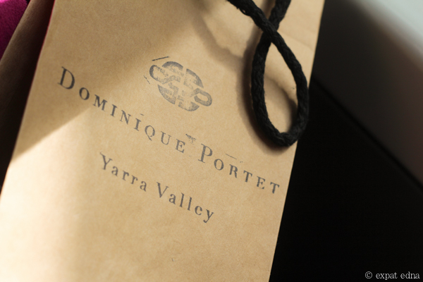 Dominique Portet wine - Yarra Valley Wine Tour Melbourne by Expat Edna