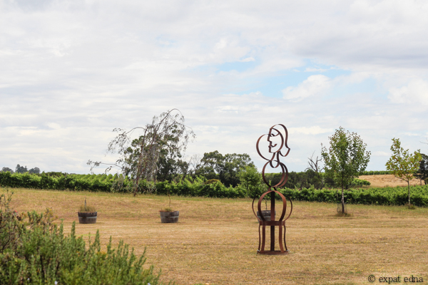 Dominique Portet yard - Yarra Valley Wine Tour Melbourne by Expat Edna