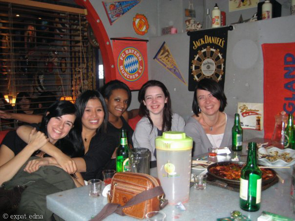 Girls Night, Korean bar, Dalian by Expat Edna