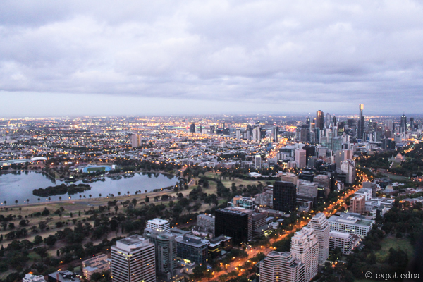 Melbourne before sunrise by Expat Edna