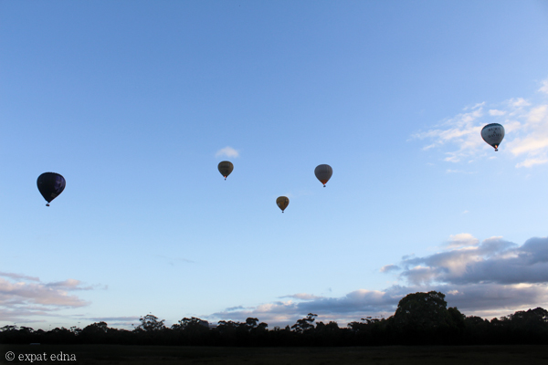 Melbourne by hot air balloon by Expat Edna-2