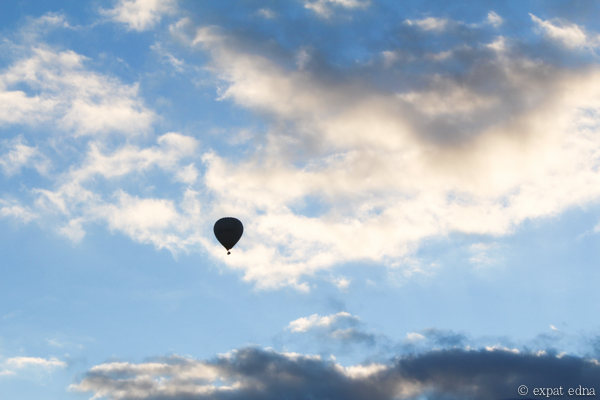 Melbourne by hot air balloon by Expat Edna