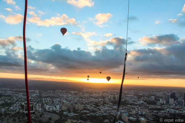 Melbourne sunrise by hot air balloon by Expat Edna-12