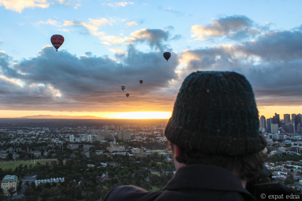 Melbourne sunrise by hot air balloon by Expat Edna-13