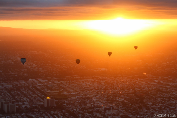 Melbourne sunrise by hot air balloon by Expat Edna-6