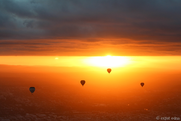 Melbourne sunrise by hot air balloon by Expat Edna-7