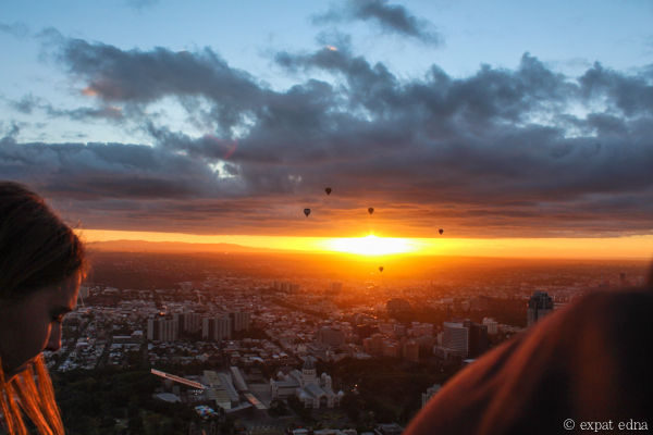 Melbourne sunrise by hot air balloon by Expat Edna-8