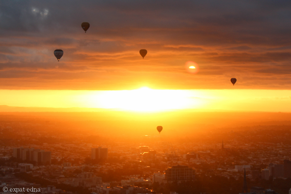 Melbourne sunrise by hot air balloon by Expat Edna-9