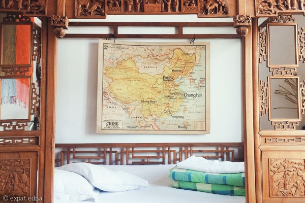 Old China in a Beijing airbnb by Expat Edna