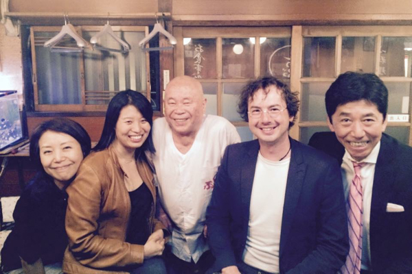 Birthday meal with strangers at Ie Tsugu's restaurant by Expat Edna